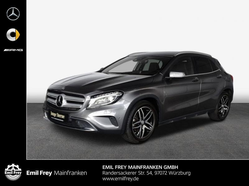 Mercedes-Benz GLA 250 4Matic Urban+AHK+Navi+Distro+ILS-Xenon, Jahr 2016, Benzin