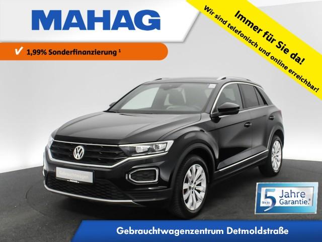Volkswagen T-ROC Sport 1.5 TSI Business Navi LED ActiveInfo FahrerAssistPlus eKlappe Standhz. AppConnect Sprachbed. 17Zoll DSG, Jahr 2019, Benzin