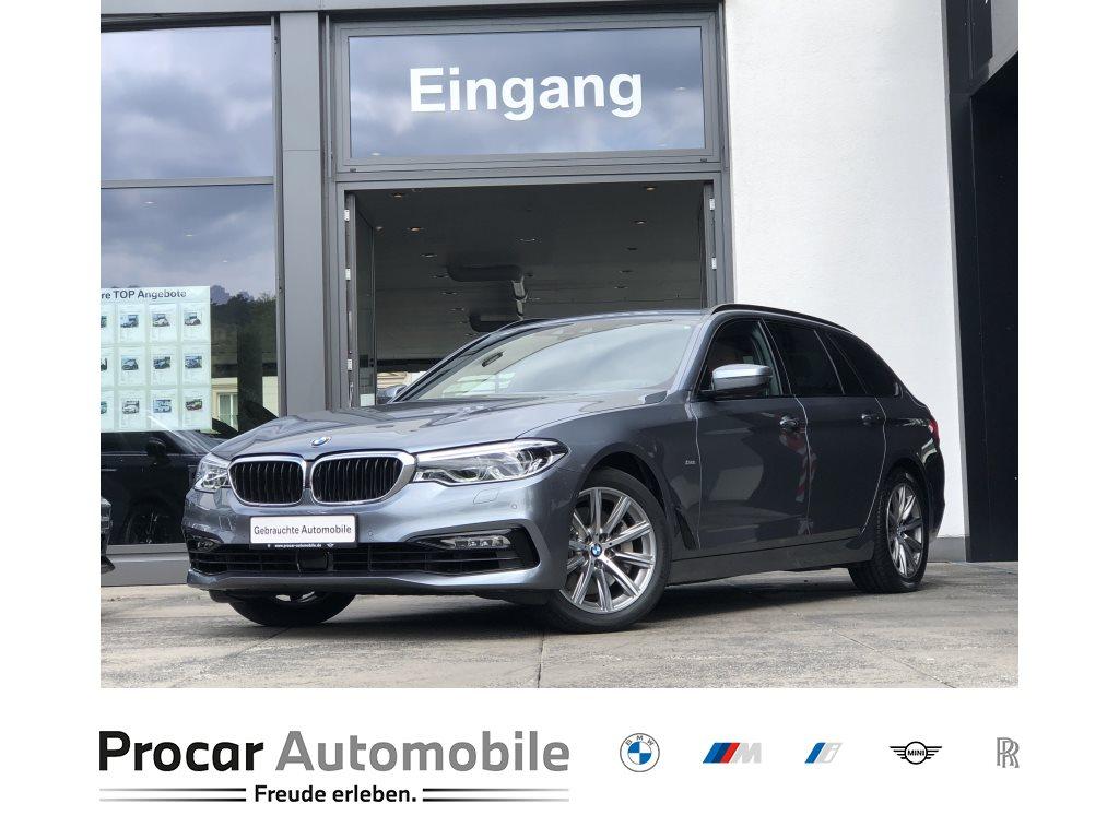 BMW 530d Touring Aut. Navi HuD LED DA PA HiFi, Jahr 2018, Diesel