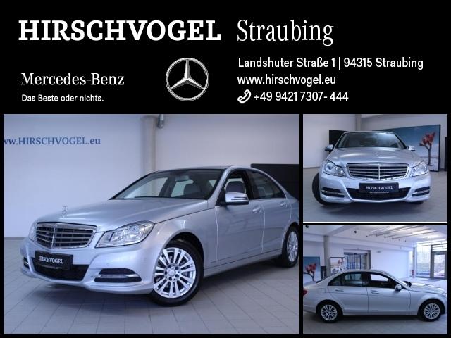 Mercedes-Benz C 180 BE ELEGANCE+Parktronic+Sitzheiz+7G-TRONIC, Jahr 2012, Benzin