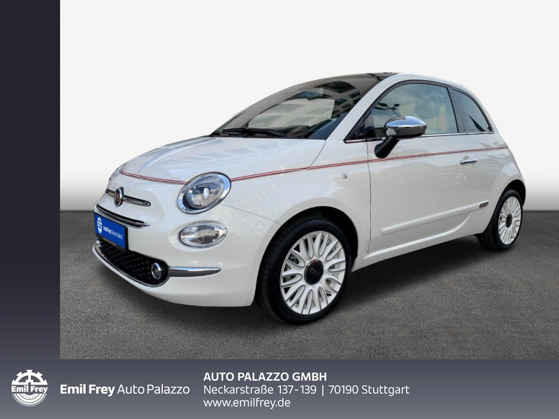 Fiat 500 1.0 Hybrid Dolcevita 70PS, Jahr 2021, Benzin