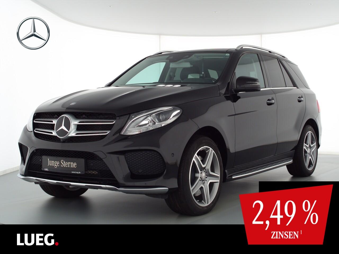Mercedes-Benz GLE 500 4M AMG+Pano+H&K+20''+KeylGo+Airm+AHK+360, Jahr 2016, Benzin