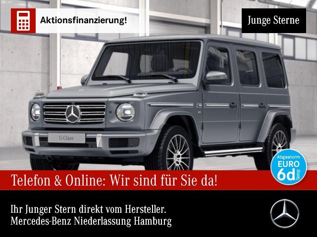 Mercedes-Benz G 500 AMG designo WideScreen 360° Stdhzg Distr, Jahr 2018, Benzin
