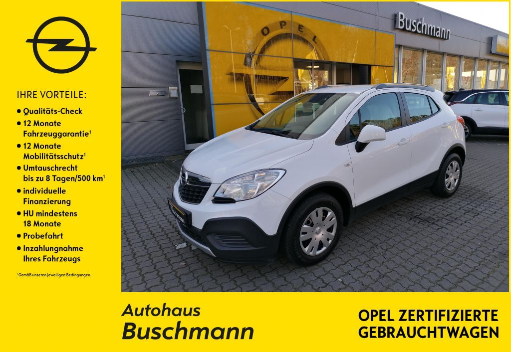 Opel Mokka 1.6 Selection +KLIMA+RADIO+, Jahr 2013, Benzin