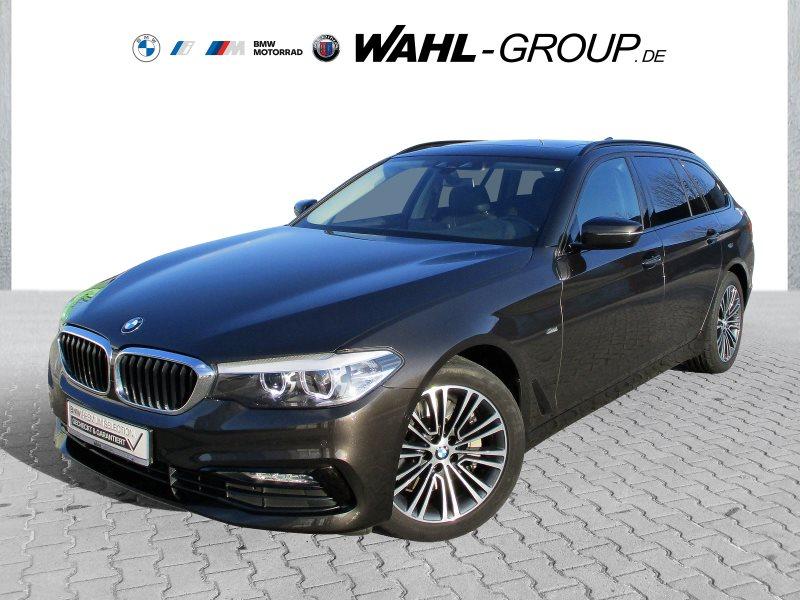 BMW 525d Touring Sport Line WLAN Pano.Dach AHK Shz, Jahr 2017, Diesel