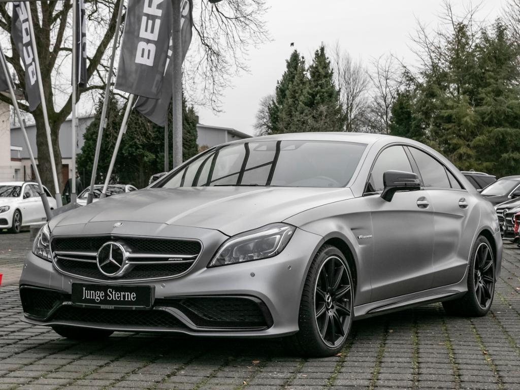 Mercedes-Benz CLS 63 AMG Designo Magno Distro. SHD 360° Harman, Jahr 2015, petrol