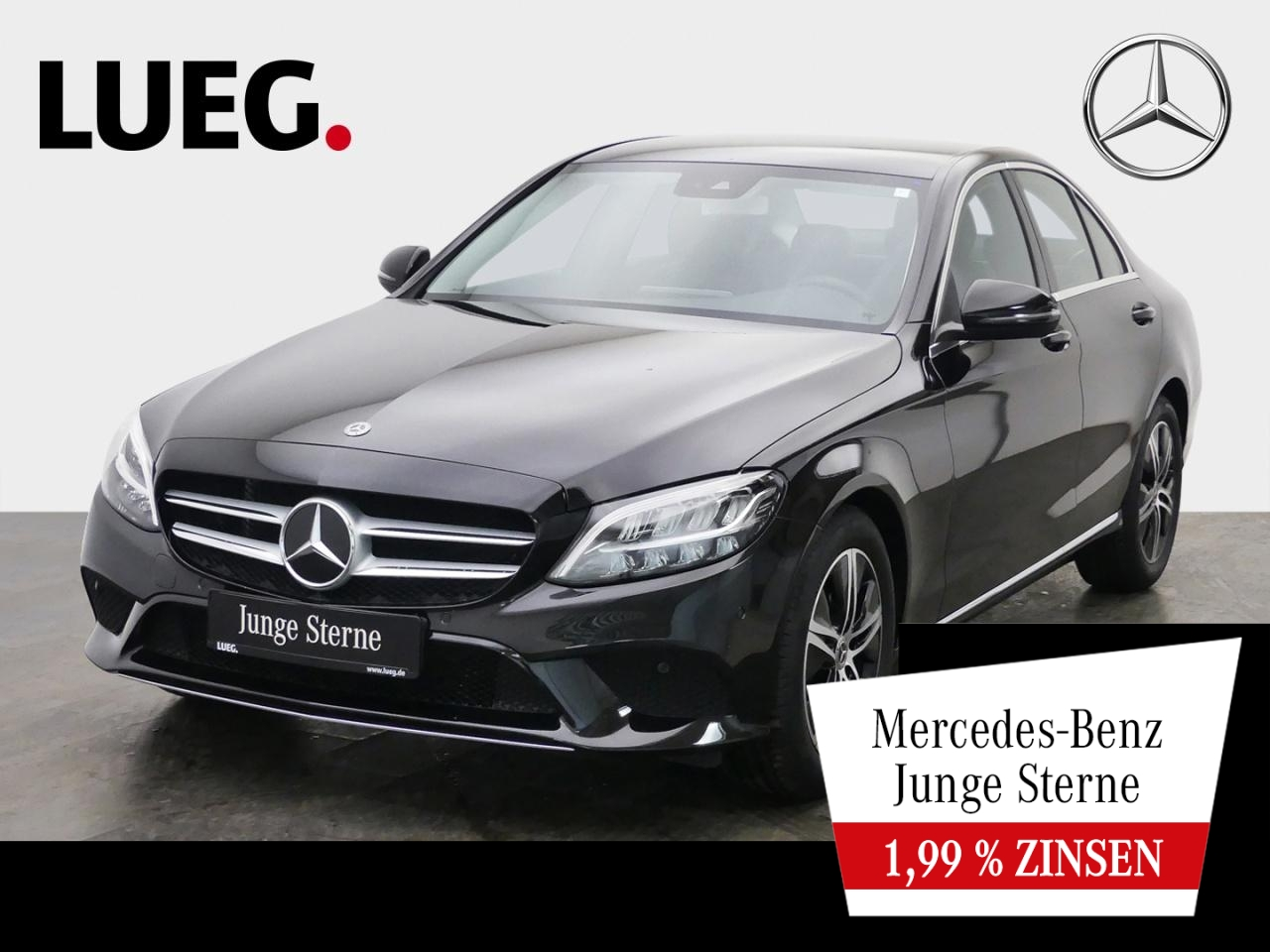Mercedes-Benz C 180 Avantgarde+Navi+LED-HP+SpurPk+CarPl+Kamera, Jahr 2020, Benzin