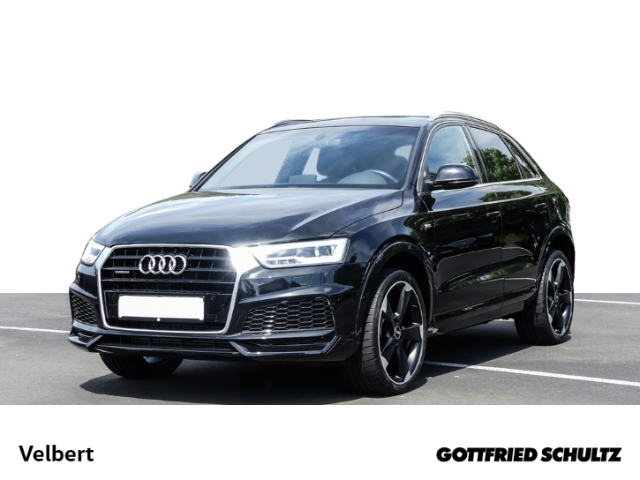 Audi Q3 2.0 TFSI S-TRONIC SPORT NAVI LED PANO RÜFA, Jahr 2018, Benzin