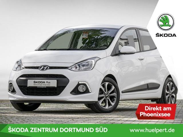 Hyundai i10 1.0 STYLE 1.Hd.Klima PDC SHZ FSE LM15, Jahr 2015, Benzin