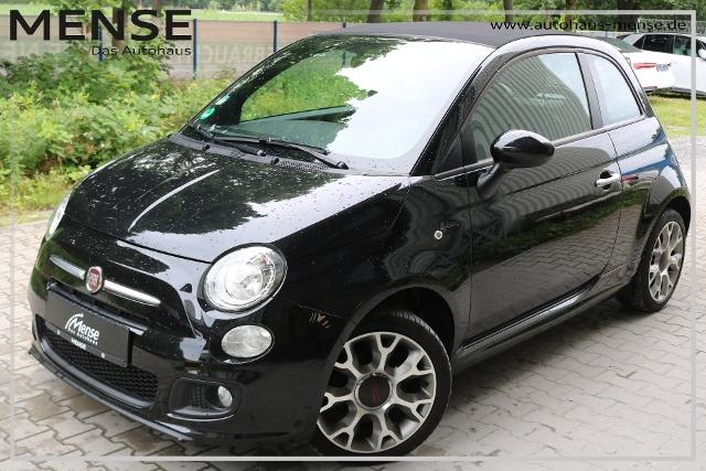Fiat 500 Cabrio S 1.2 8V LM-Felgen Einparkhilfe MP3-P, Jahr 2013, Benzin
