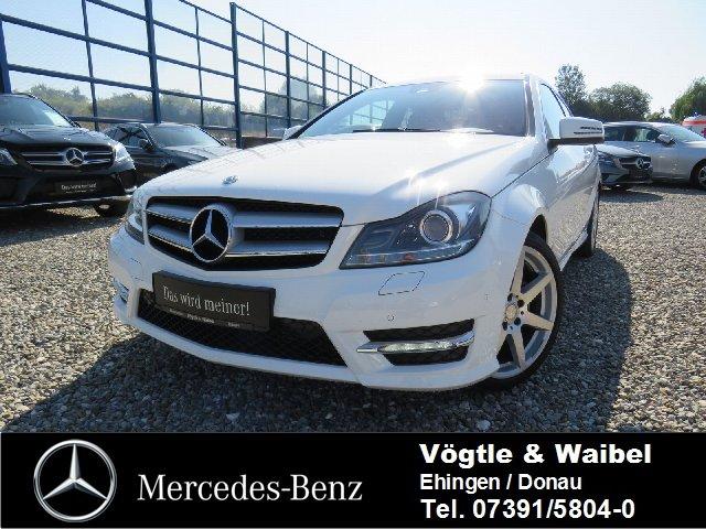 Mercedes-Benz C 180 BE Coupé AMG-SPORTPAKET+ILS+NAVI+SOUNDSYS., Jahr 2012, Benzin