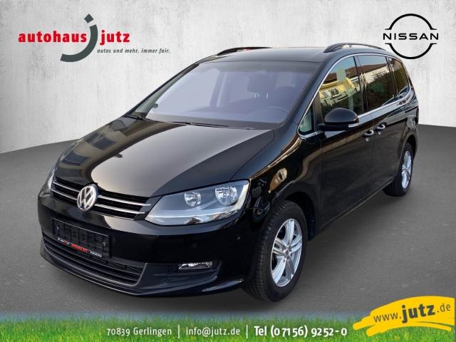 Volkswagen Sharan Comfortline BMT Start-Stopp 2.0 TSI Navi Kurvenlicht e-Sitze ACC Parklenkass., Jahr 2017, Benzin