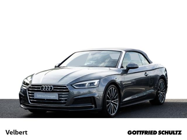 Audi A5 CABRIOLET 40 TFSI S-TRONIC NAVI S-LINE LED, Jahr 2019, Benzin