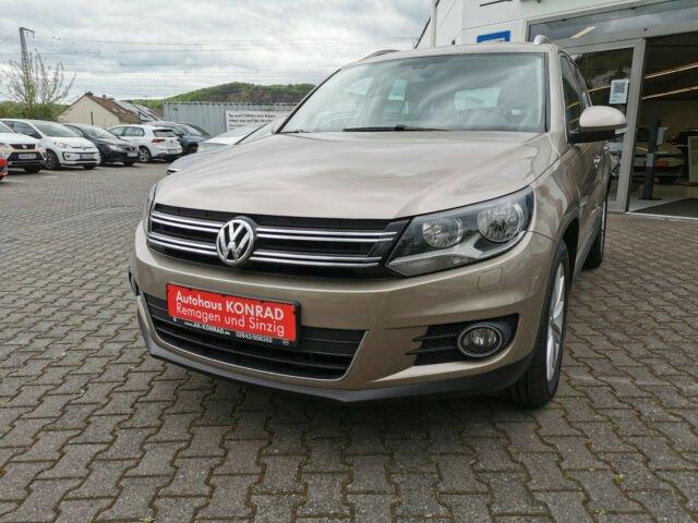 Volkswagen Tiguan Sport & Style BMT 1.4 TSI +AHK+Winterpake, Jahr 2014, Benzin