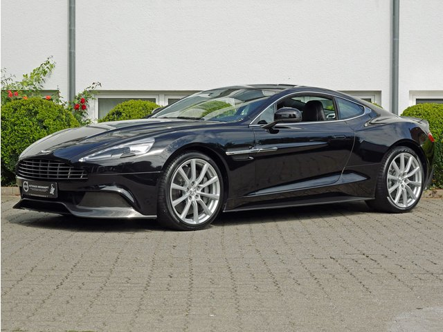 Aston Martin Vanquish 2+2 Sitzer*B&O*Carbon*Black/Black*MJ14, Jahr 2013, petrol