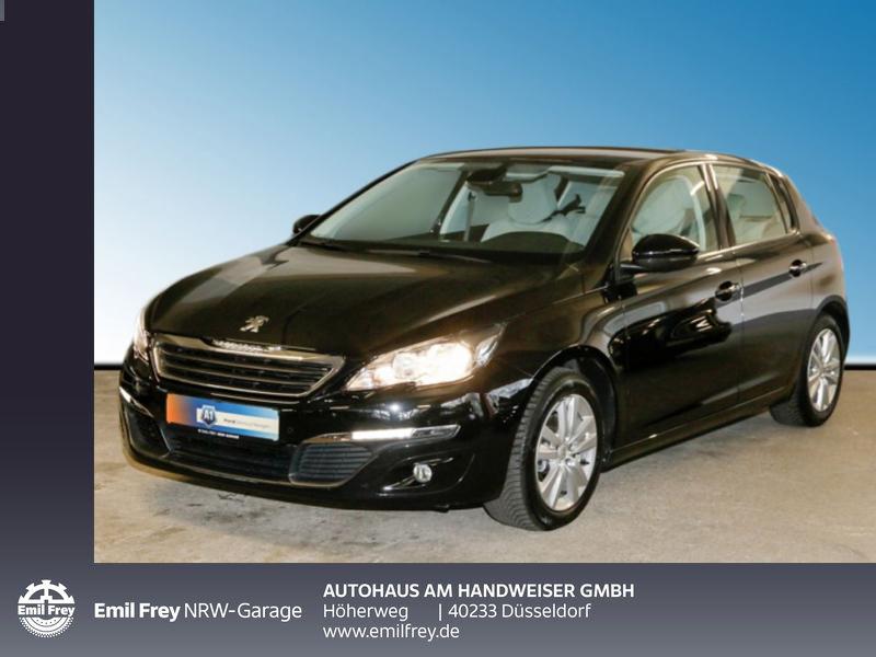 Peugeot 308 82 VTi Active, Ganzjahresreifen, Tempomat, Jahr 2013, Benzin