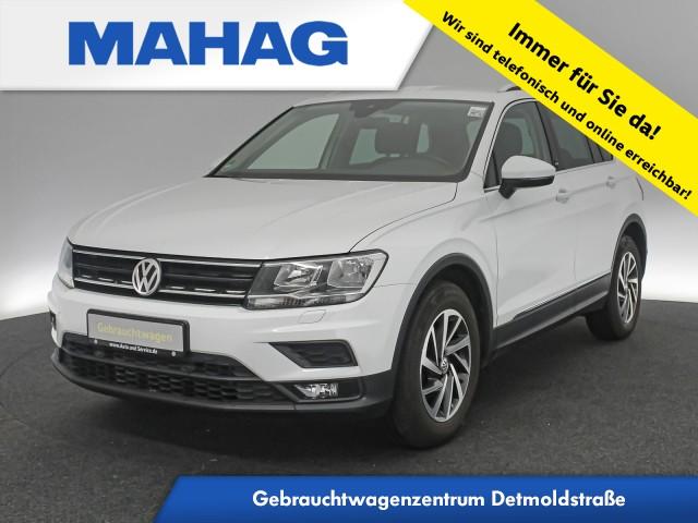 Volkswagen Tiguan 1.4 TSI Sound Navi ActiveInfo AHK AppConnect Sitzhz. ParkPilot FrontAssist LaneAssist LightAssist 17Zoll 6-Gang, Jahr 2017, Benzin