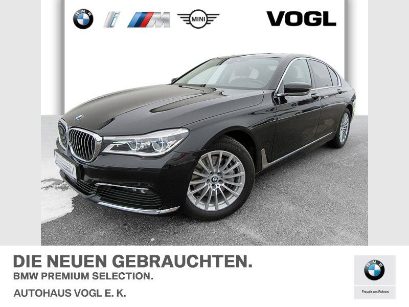 BMW 740d xDrive Limousine, SHZ, Head-Up, RFK, Jahr 2017, Diesel