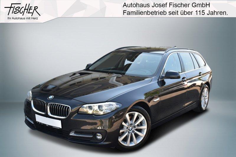 BMW 520d Aut. xDrive Navi Prof. Sthzg Pano AHK HiFi, Jahr 2015, Diesel