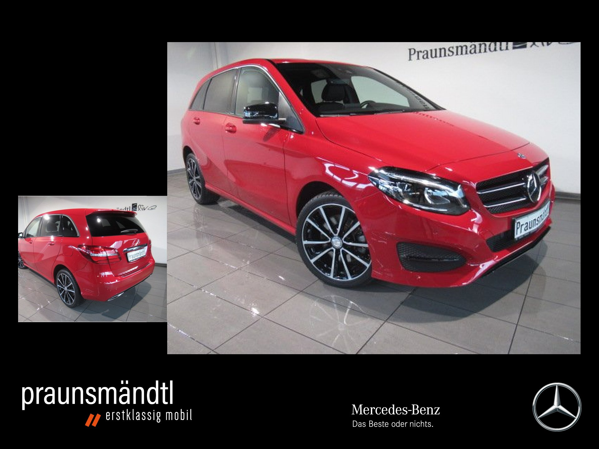 Mercedes-Benz B 250 Urban Night 7ATG/Distr+/LED/PTS/Com/Kamera, Jahr 2016, Benzin