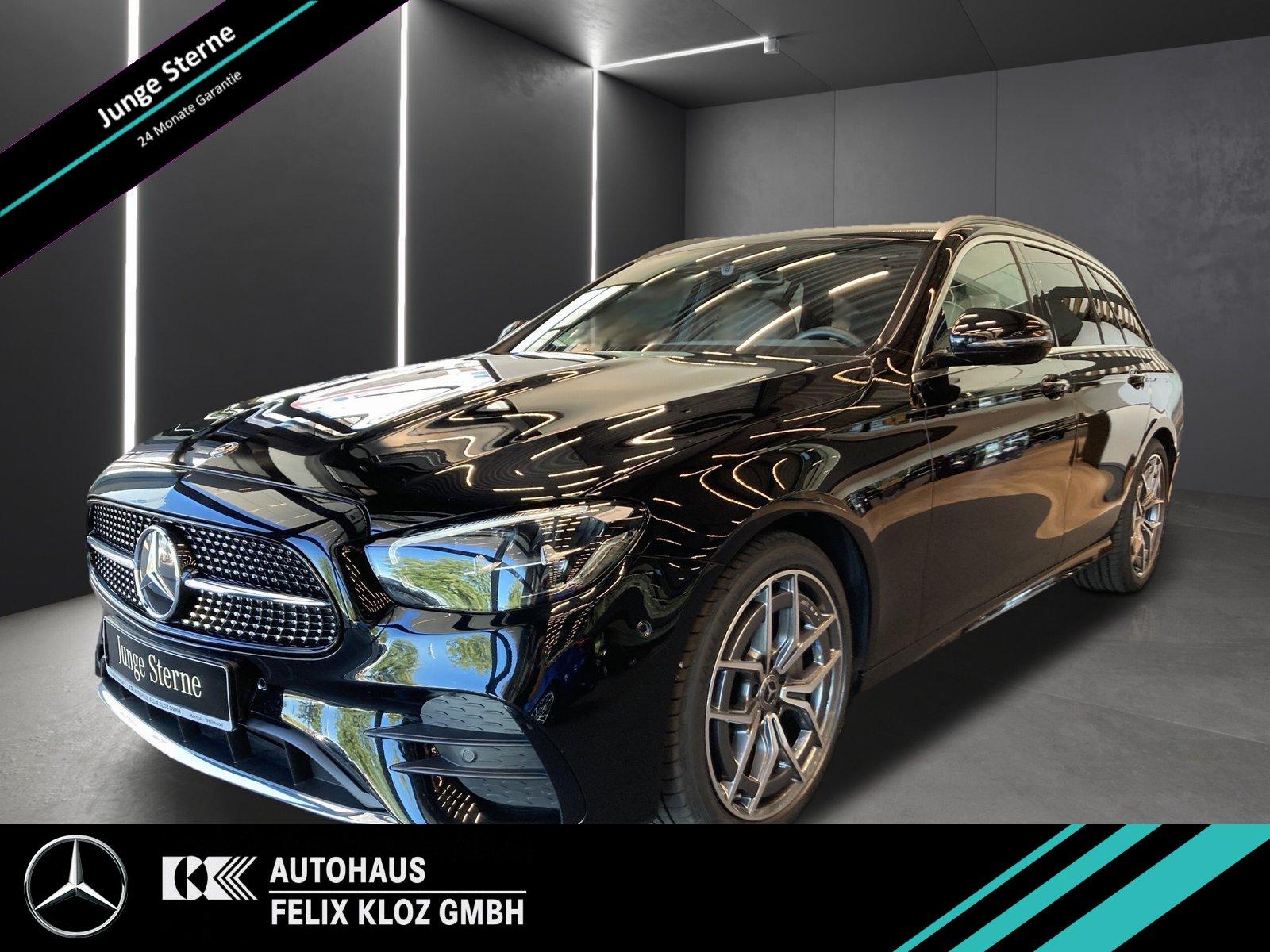 Mercedes-Benz E 200 T 4M AMG*AHK*Totwinkel*Kamera*Schiebedach, Jahr 2020, Benzin