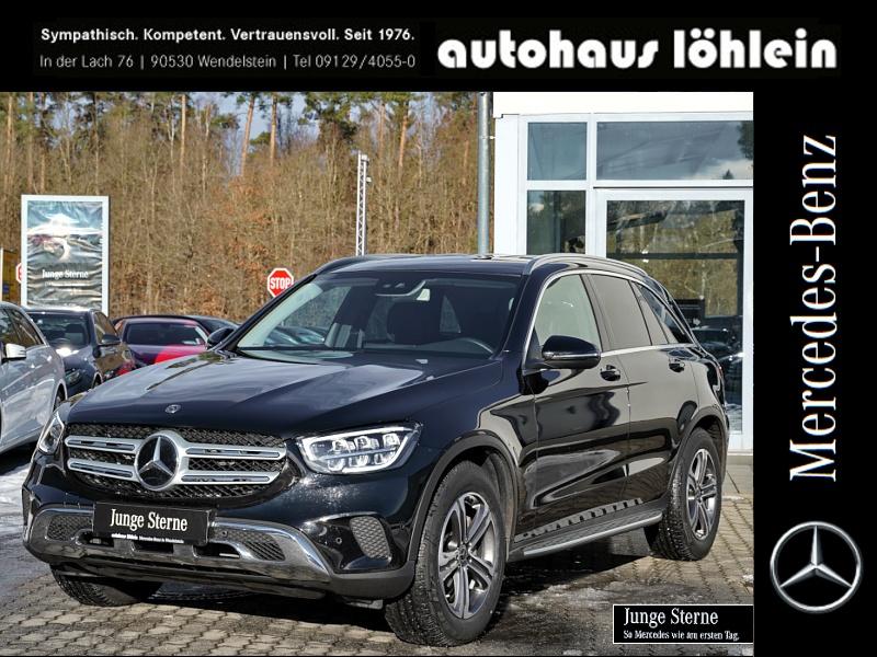 Mercedes-Benz GLC 200 4M AMG SPUR-PAKET+LED+COMAND+TOTWINKEL+T, Jahr 2020, Benzin