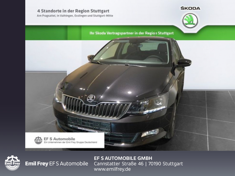 Skoda Fabia 1.2 TSI Ambition, Jahr 2017, Benzin