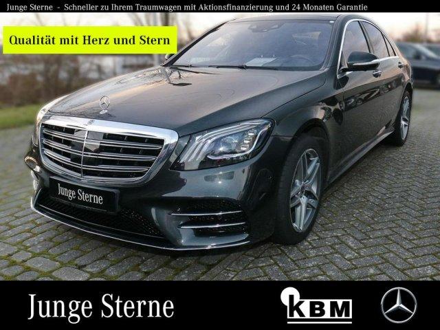 Mercedes-Benz S 560 4M AMG °DISTRONIC°LED°360°HuD°NACHT-ASS-P°, Jahr 2017, Benzin