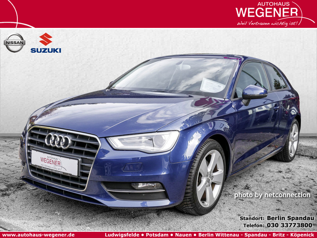 Audi A3 2.0 TDI Ambition, Jahr 2014, Diesel