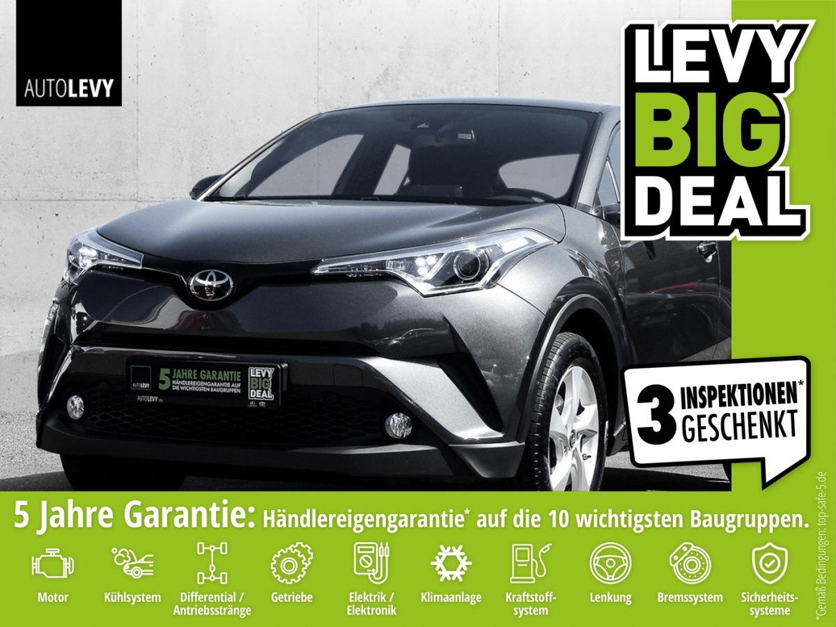 Toyota C-HR 1.2 Turbo Flow Kamera*Safety Sense*Klimaaut, Jahr 2018, Benzin