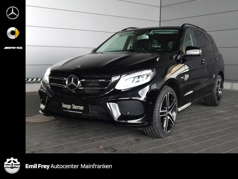 Mercedes-Benz GLE 43 AMG 4M+Stndhzg+AHK+HuD+HiFi+Distro+COMAND, Jahr 2018, Benzin