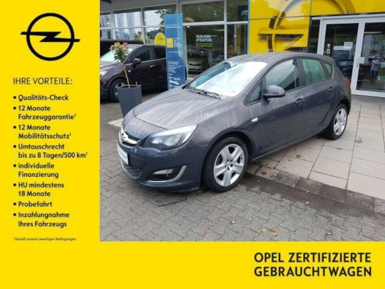 Opel Astra J 1.4 Turbo Edition, Jahr 2013, Benzin
