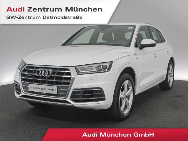 "Audi Q5 3.0 TDI qu. Sport S line 19"" Navi Xenon PDC Teilleder tiptronic, Jahr 2018, diesel"