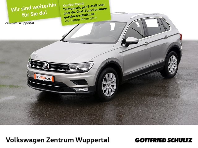 Volkswagen Tiguan 2,0 TSI Highline 4M LED NAVI SHZ PDC LM ZV, Jahr 2017, Benzin