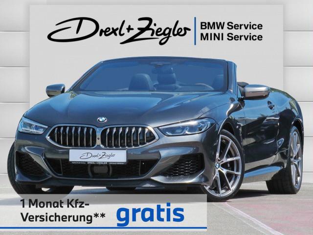 BMW 850i xDrive Cabrio Individual B&W ACC SCA Laser, Jahr 2020, Benzin