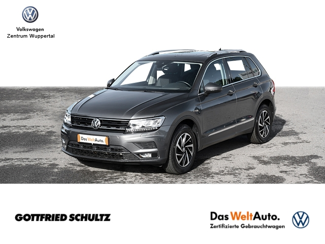 Volkswagen Tiguan 1 4 TSI DSG Join LED NAVI PANO AHK STANDHZG, Jahr 2018, Benzin
