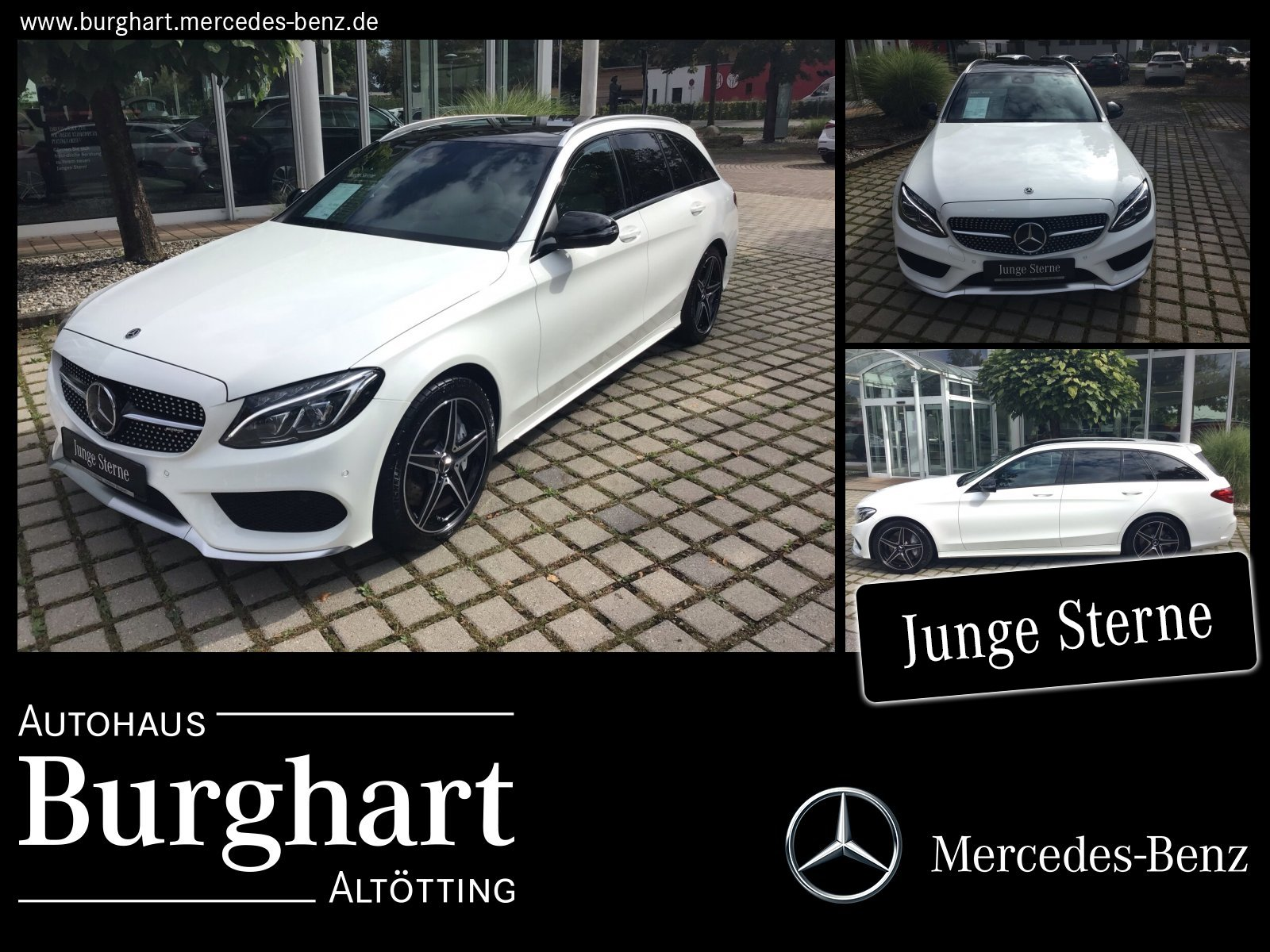 Mercedes-Benz Mercedes-AMG C 43 T 4M Business/COMAND/PanoDach, Jahr 2017, Benzin