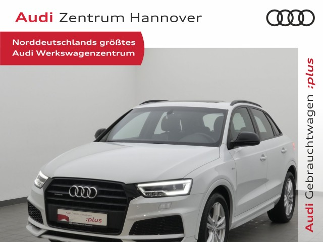Audi Q3 2.0 TFSI quattro sport, Jahr 2017, Benzin