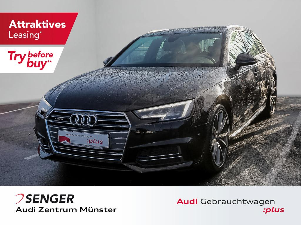 Audi A4 Avant Sport 2.0 TFSI quattro S line Autom., Jahr 2018, Benzin