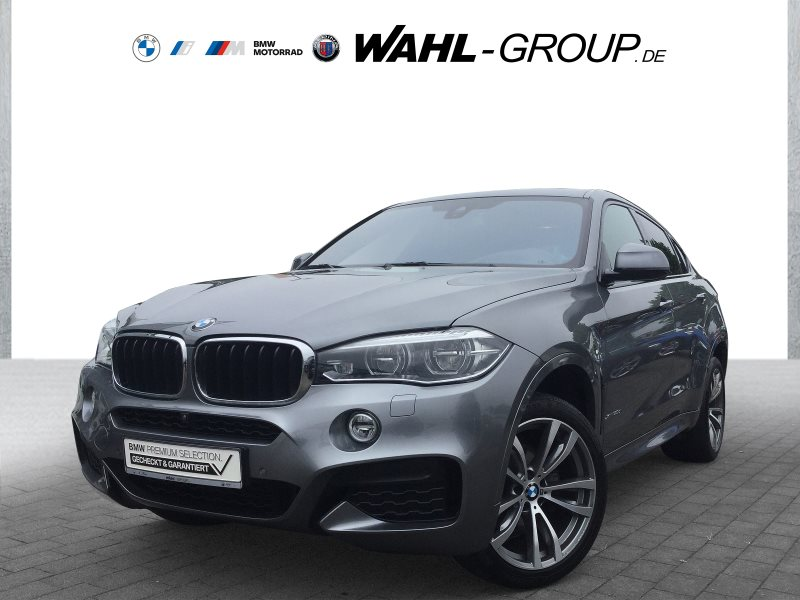 BMW X6 xDrive30d M Sportpaket Head-Up HiFi LED WLAN, Jahr 2018, Diesel