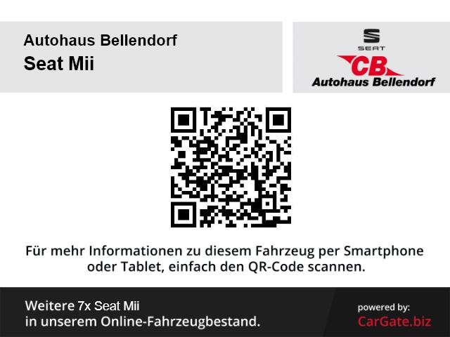 Seat Mii I-Tech 1.0 +RADIO+BT+TAGFAHRLICHT+EFH+KLIMA+ZV+GARANTIE+LENKRADVERST.+ABS+SERVO+AUX, Jahr 2014, Benzin