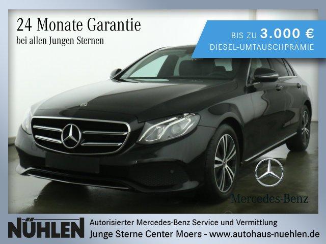 Mercedes-Benz E 200 d Limousine AVANTGARDE Exterieur+LED+Autom, Jahr 2019, Diesel