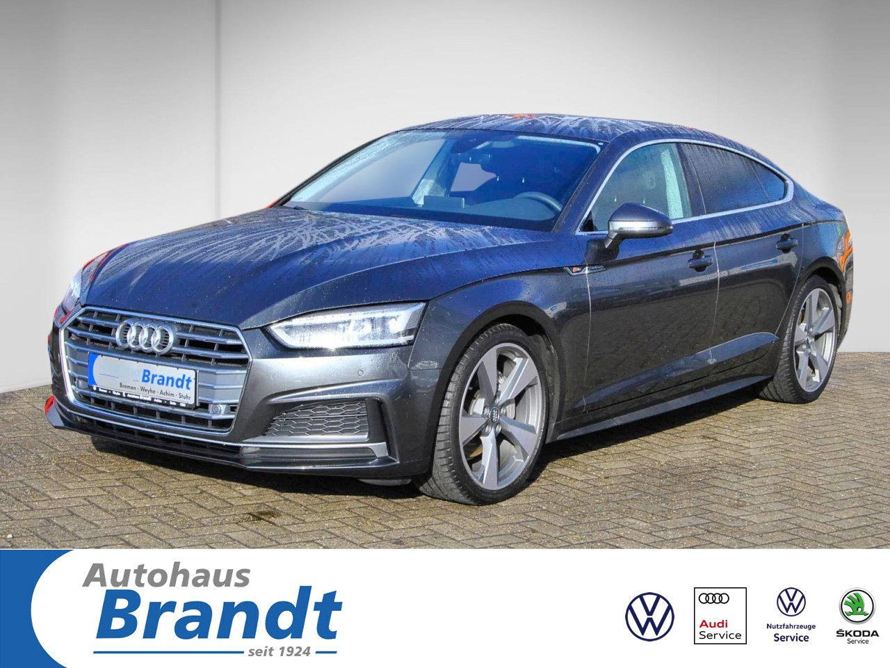 Audi A5 Sportback 40 TDI S-LINE*S-TRONIC*LED*NAVI+*GRA, Jahr 2019, Diesel