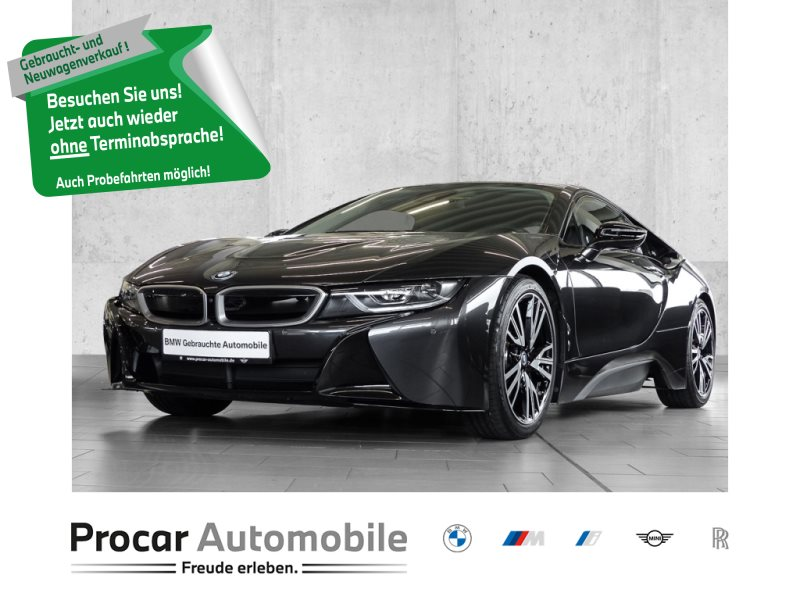 BMW i8 Coup Head-Up LED Navi Prof.Finanz. ab 1,49%, Jahr 2019, Hybrid