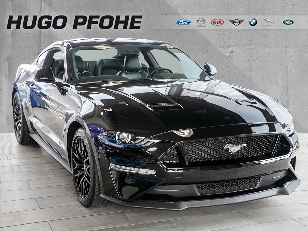 Ford Mustang Coupè GT 5.0 Ti-VCT V8 331kW Aut. UPE 53, Jahr 2019, Benzin