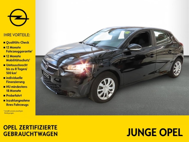 Opel Corsa F 1.2 Edition KLIMA+PARKPILOT+BT+USB+MET., Jahr 2019, Benzin