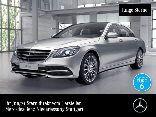 Mercedes-Benz S 560 L 4M designo Fondent FirstClass 360° Airmat, Jahr 2017, Benzin