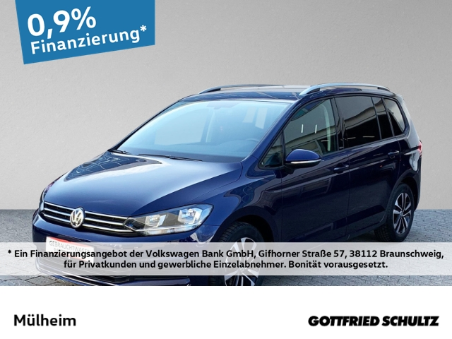Volkswagen Touran 1.5 TSI 7-Sitzer NAVI PDC ALLWETTER United, Jahr 2020, Benzin