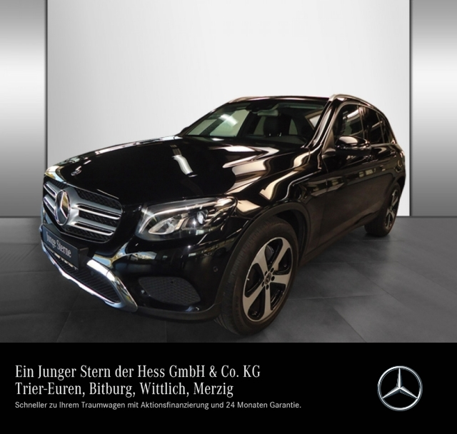 Mercedes-Benz GLC 350 d 4M Exclusive+Burmester+Comand, Jahr 2017, Diesel