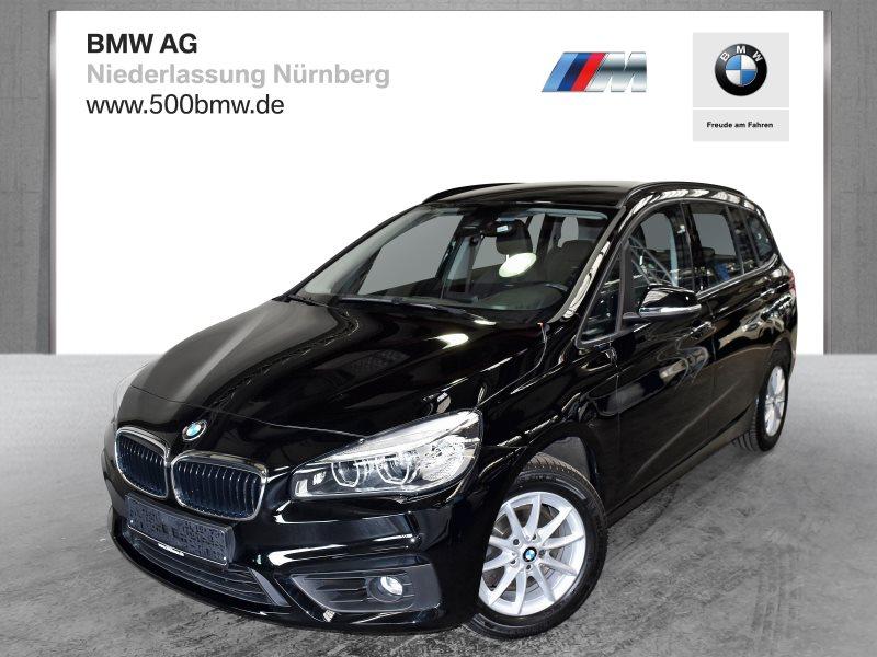 BMW 218i Gran Tourer EURO6 Advantage HK HiFi DAB LED Tempomat, Jahr 2017, Benzin
